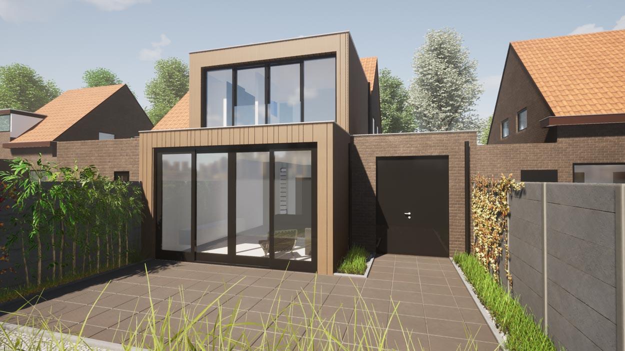 Uitbreiding Woonhuis Breda
