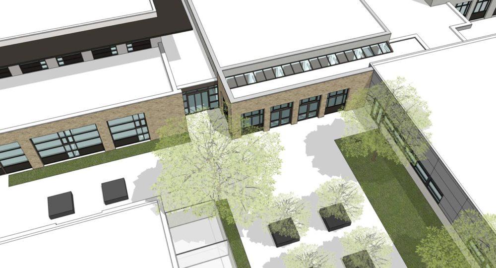 Uitbreiding Aula Helicon Eindhoven